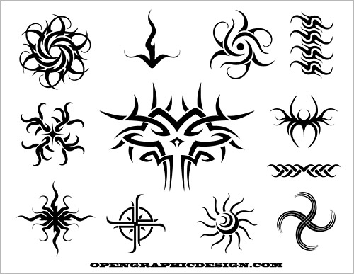 Tribal Art - Tattoo Graphics - Tribal Drawings