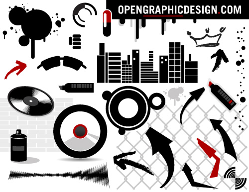 wallpaper urban art. Urban Art in Vector Graphics