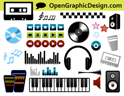 Free Music Icons and Graphics Download